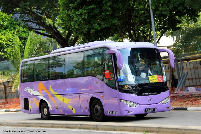 Smart Bus Golden Dragon XML6957J14 (CB6613X)