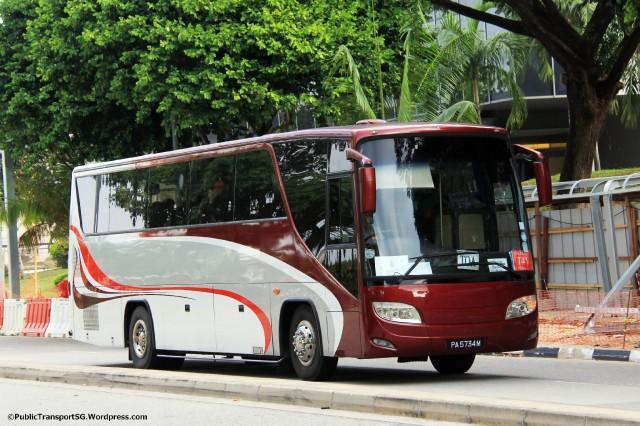 Loh Gim Chong Transport (MyBus.com.sg) - Mitsubishi RM117NSRDEB (PA5734M)