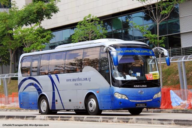 Smart Bus King Long XMQ6900K (PC863X)