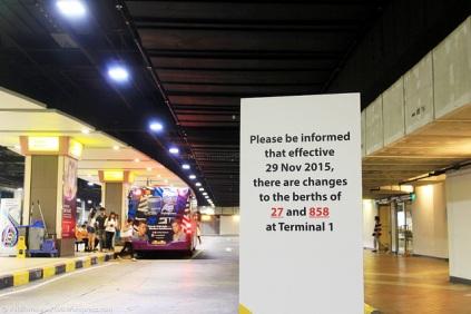 Terminal 1 berth swap