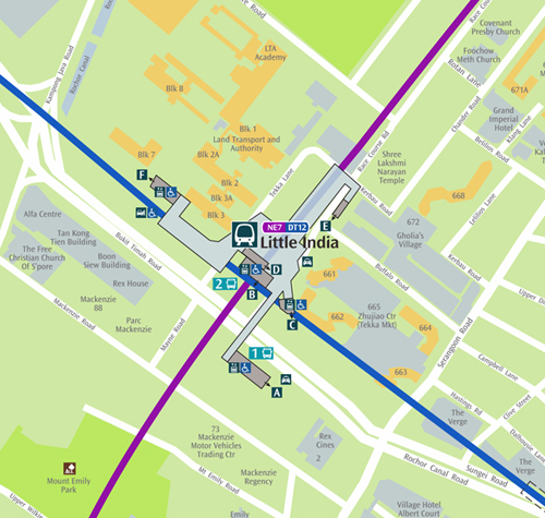 how to get to albert park by public transport