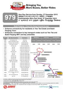Service 979 Route Poster